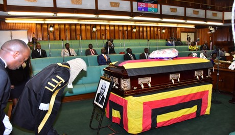 Former President Wacha Olwol laid to rest