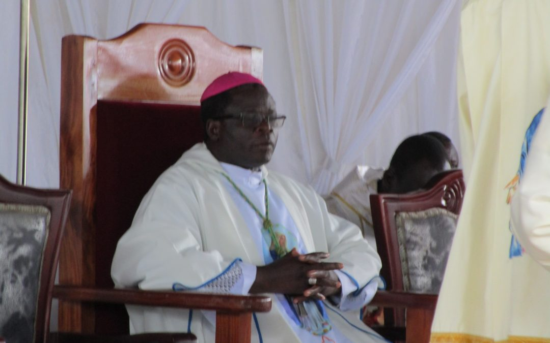PICTORIAL: Bishop Santus Lino Wanok's First Diocesan Priestly Ordination