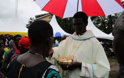 PICTORIAL: Reverend Father Douglas Owera Is Bishop's Current Secretary