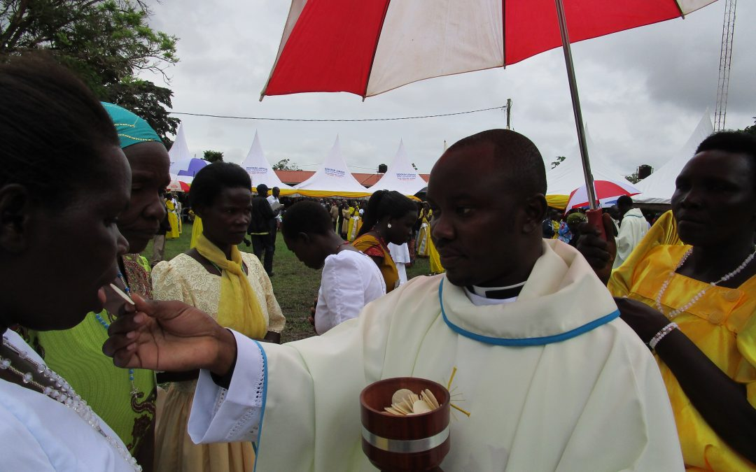 "ORDINATION PICTORIAL: Reverend Father Jacob Raymond Komakech Completes ""The Long Journey"""