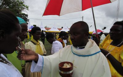 """ORDINATION PICTORIAL: Reverend Father Jacob Raymond Komakech Completes """"The Long Journey"""""""