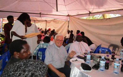 PICTORIAL: Lira Diocese Bishops At Sant Egidio Christmas Lunch 2019