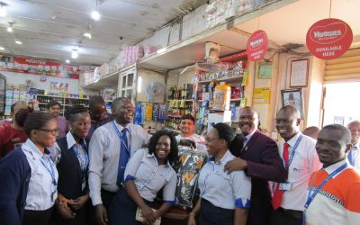 Lira Cente-Christmas Winner Grabs Goods Worth UGX460,000 From Supermarket in 55 Seconds