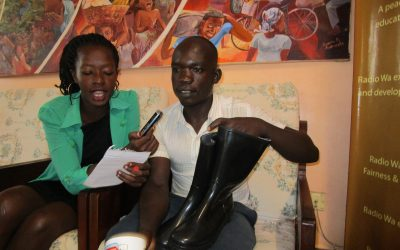Peasant Farmer Excited With Radio Wa Christmas Yongeza Promotion Prize