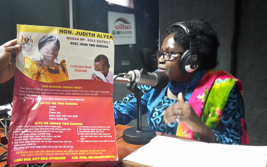 "Kole Woman MP Judith Alyek Defends 20 Million MPs' ""Corona Cash"""