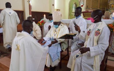 Gulu Archdiocese Ordains Second Comboni Missionary Priest, Fr. Constanz Opiyo