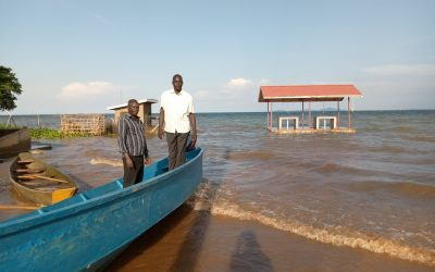 Rising Water Level Submerges Fishing Facilities In Amolatar District