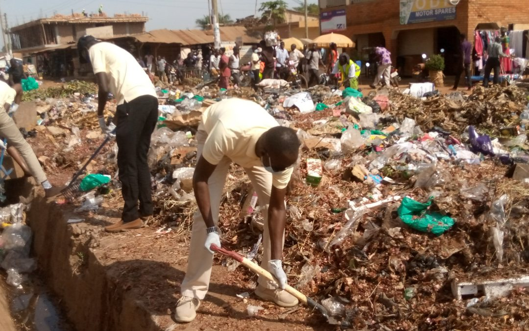 Lira City Gets Cleaned On World Water And Environment Week